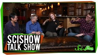 SciShow Talk Show: The Mice of Riddle Place & Bindi the Bearded Dragon