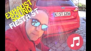 FORD FIESTA ST 2018 exhaust sound & launch control!