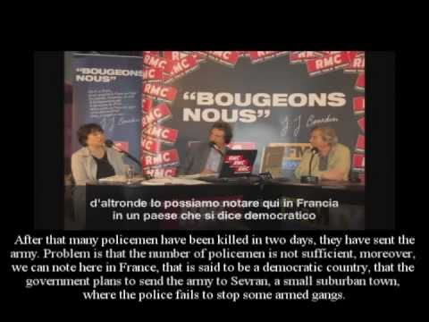 Shock! The Truth about Syria on a French Radio (RMC) - Syrian interviewed (ENG-ITA subtitles)