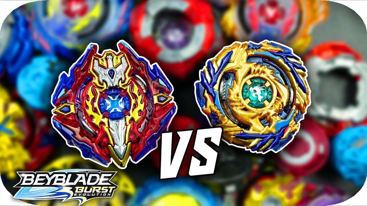Best Combos Battle Ultimate Attack Vs Defense Battle Beyblade Burst Evolution God Youtube