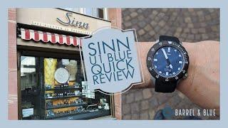 Sinn U1 B استعراض + مذهلة Sinn تجربة شراء