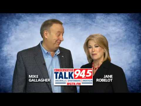 "Mike and Jane...on the 'all-new"" Conservative Talk 94.5"