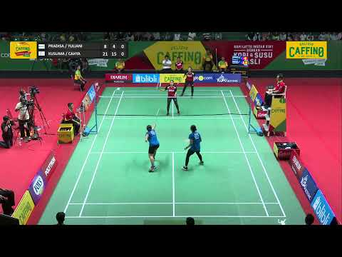 SEMIFINALS GIRLS U19 | GD1 | PARDISA / YULIANI ( BLIBLI.COM ) VS KUSUMA / INDAH ( PB DJARUM )