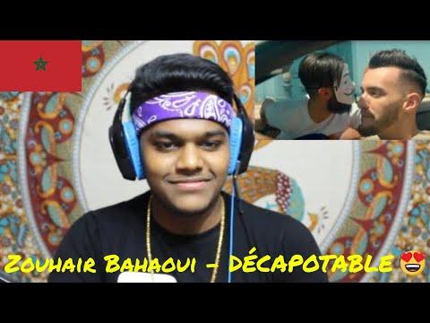 Zouhair Bahaoui - DÉCAPOTABLE (EXCLUSIVE Music Video)   INDIAN REACTION