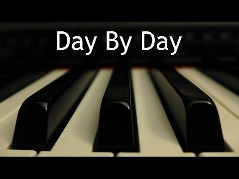 Day By Day - piano instrumental hymn with lyrics