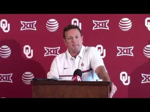 OU Media Day 2016 - Bob Stoops