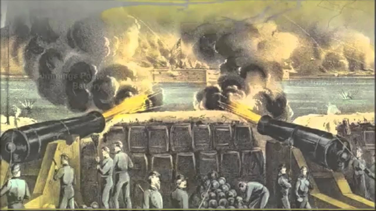 Battle of Fort Sumter: Live News Boardcast - YouTube