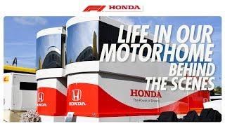 LIFE TRACK SIDE | Honda Racing F1 | Powered By Honda