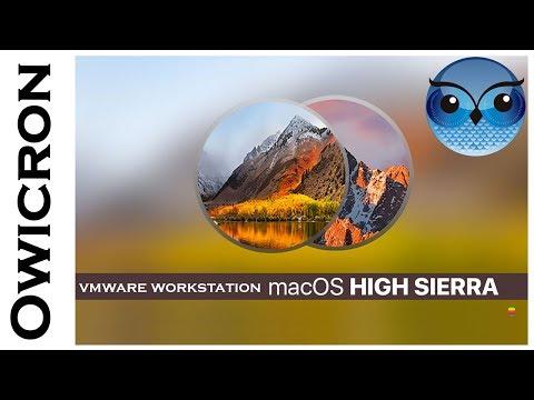 Install mac os high sierra on pc vmware