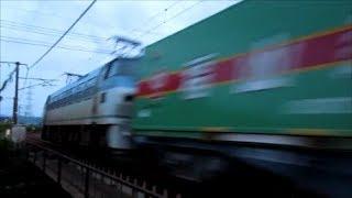 2017年8月23日 山陽本線Gライン 貨物列車撮影記