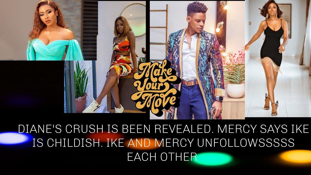 Big brother naija Reunion 2020. Mercy and Ike DIANE and ...