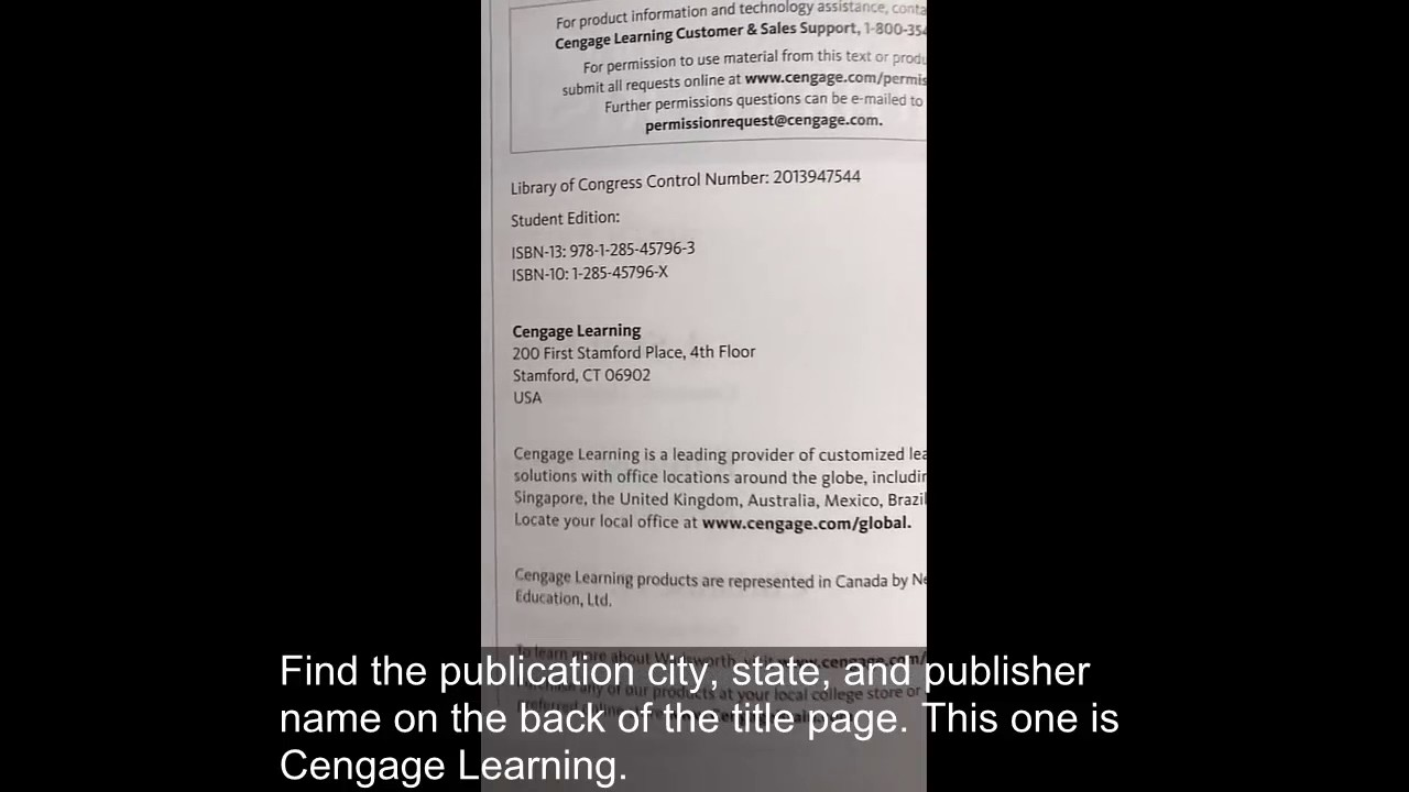 How To Cite A Book Chapter In Apa Style