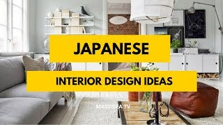 50+ Amazing Japanese Small Space Interior Design Ideas