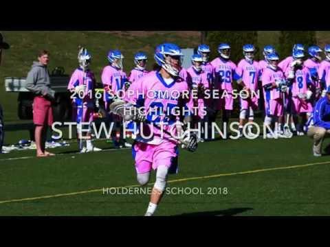 Stew Hutchinson 2018 Holderness School Sophomore Season Highlights