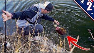 HUNTING the LEGENDARY Australian Fish With BIG BAITS (BUCKET LIST FISH)