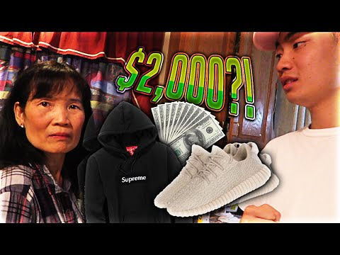 Thumbnail: Mom Freaks Out at me for Buying Yeezys and a $1000 Hoodie (LIVE FOOTAGE)