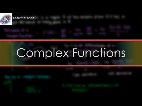 Introduction To Complex Functions