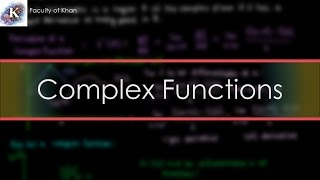 A brief introduction to Complex Functions, including basics and hol...