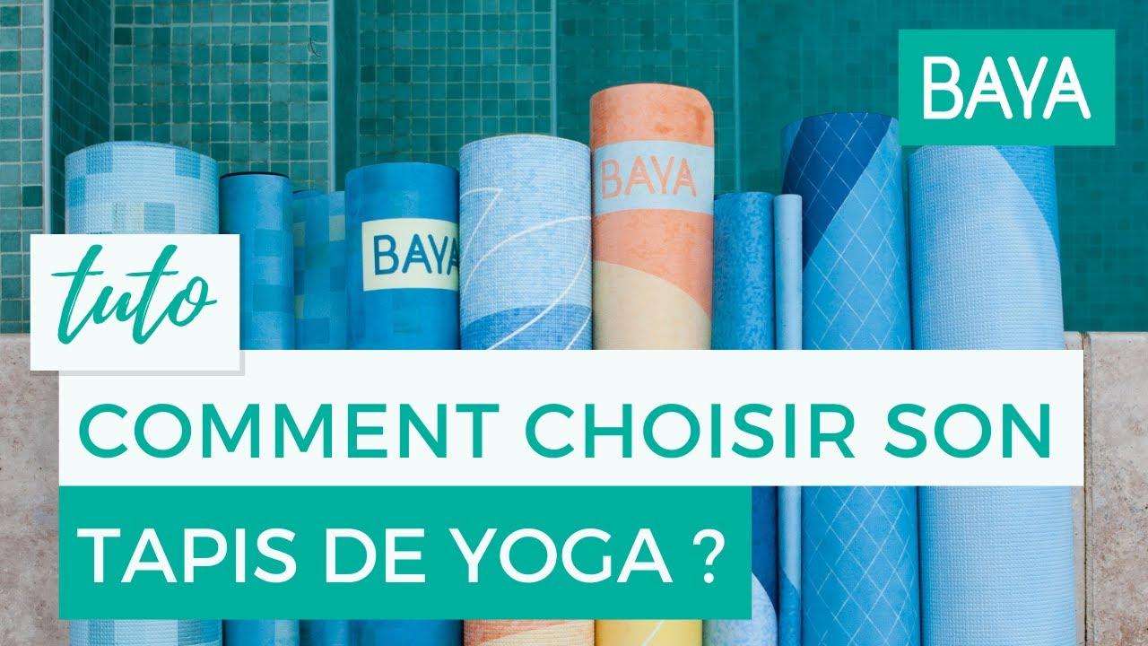 Comment Choisir Son Tapis Affordable Poss Au Sol Mais Pas Seulement - Faience cuisine et tapis de yoga baya