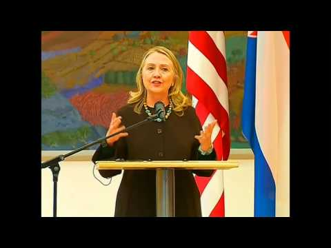 Secretary Clinton Delivers Remarks With Croatian President Ivo Josipovic