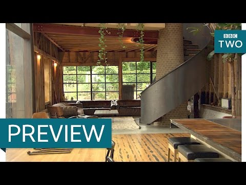 Recycling objects in a beautiful home - The House That £100k Built: Episode 4