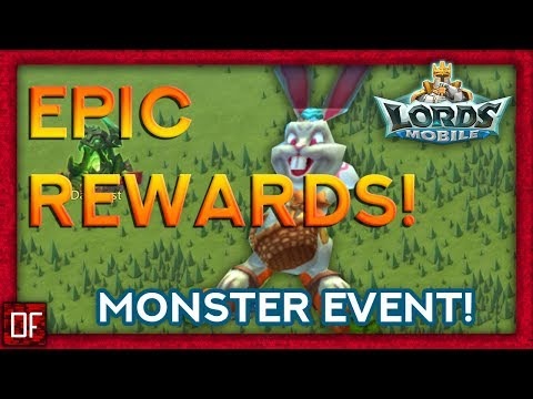 Lords Mobile: These Rewards Are INSANE From The Monster Event!