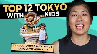 Top 12 FUN Attractions in Tokyo with Kids | Japan Family Holiday
