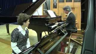 "Jürg Hanselmann ""Ach Amor"" (Guggisberglied) aus ""Tabulatura"" - Sandra & Jürg Hanselmann, Klavier"