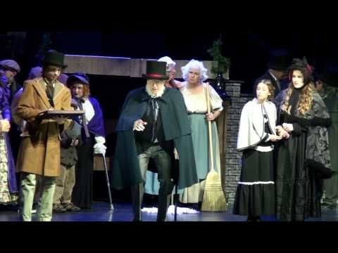 "ACT 1 of ""A Christmas Carol"" presented by AOO Productions"