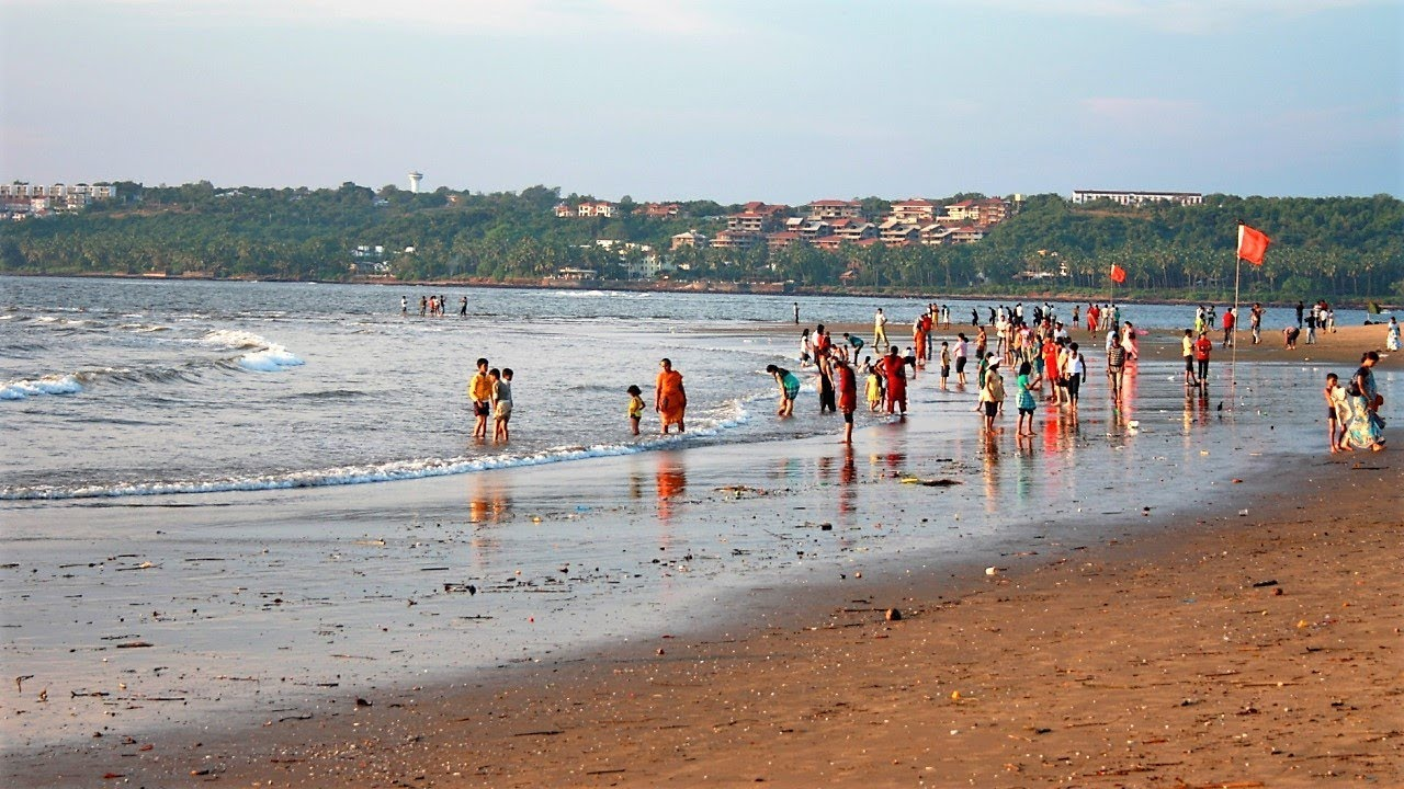 Miramar Beach - Goa, India - YouTube