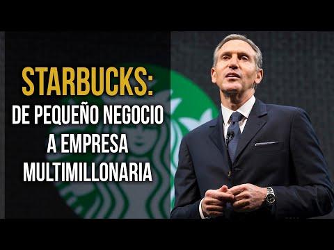 Cómo Howard Schultz convirtió a Starbucks en una empresa multimillonaria ☕