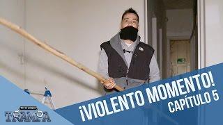Violento momento en la casa tomada | En su propia trampa