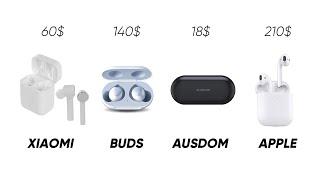 Какие недорогие наушники купить вместо AirPods?