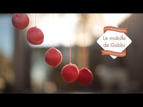 Mobile de Gobbi - collection de matériel Montessori développée par Nature et Découvertes