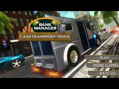 Bank Manager Cash Transport Truck - by 3D Games Village | Android Gameplay |