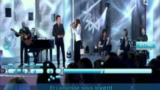 karaoké , Tony Carreira & Natasha St Pier  ,   Sous le vent , Sempre comigo onde eu for