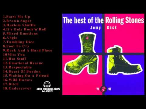 The Rolling Stones greatest hits || Album Jump Back 2017 || The Best Of The Rolling Stones