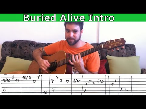 Fingerstyle Tutorial: Buried Alive Intro (Avenged Sevenfold) - Guitar Lesson w/ TAB