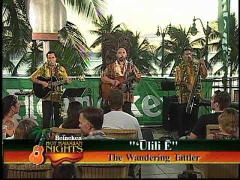 Kuana Torres Kahele 'Ulili E Tiki's Grill & Bar - KFVE's  Heineken Hot Hawaiian Nights.