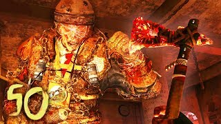 MOB OF THE DEAD: RACE TO ROUND 50 CHALLENGE! (Black Ops 2 Zombies Gameplay)