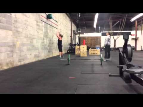 Courtney Sims 16.4 Crossfit Open
