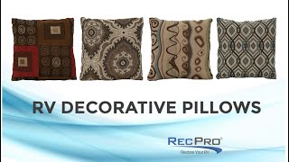 RV Decorative Pillows