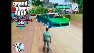 gta vice city mods | audi r8 mod