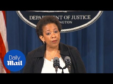 US Attorney General: Big banks plead guilty to market rigging - Daily Mail