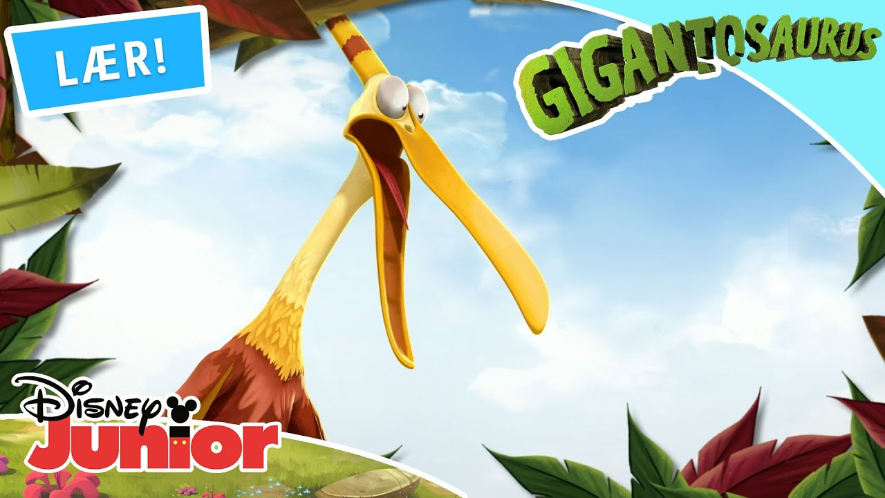 🦕 Hvem kender sine dinoer? Part 2 | Gigantosaurus | Disney Junior Danmark
