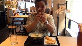 惊奇日本:簡單又便宜的美食【ビックリ日本:驚きの食感!讃岐うどん】 thumbnail