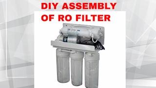 REVERSE OSMOSIS : DIY  RO WATER PURIFIER