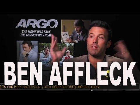 "Ben Affleck says the movie Argo was ""The Best Script"" owned by Warner Brothers"