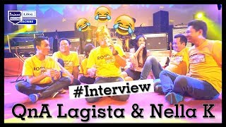 "VLOG LAGISTA ""ASAL MULA HAK 'E HAK 'E "" Q & A Lagista & Nella Kharisma"