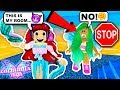 SNEAKING IN HOTEL ROOMS! Roblox Enchantix High Roleplay   Roblox Trolling   Roblox Funny Moments